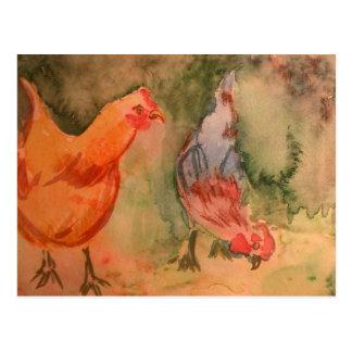 Early Birds Postcard