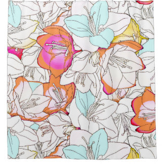 Early Bloomer Shower Curtain