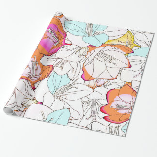 Early Bloomer Wrapping Paper