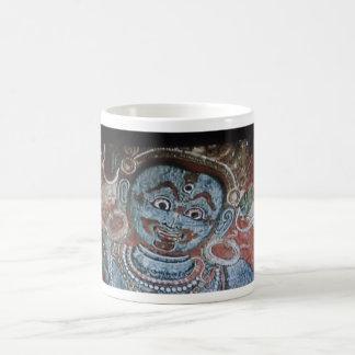 Early Buddhist art mug