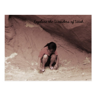 Early Cave Dweller.... Postcard