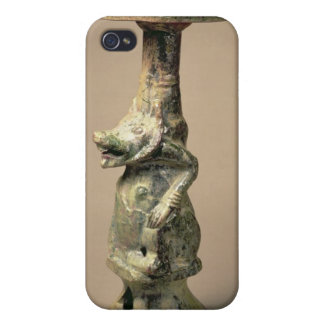 Early Chinese pottery lamp, tomb artefact iPhone 4/4S Case