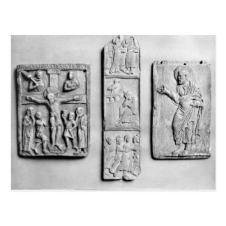 Early Christian ivories Postcard