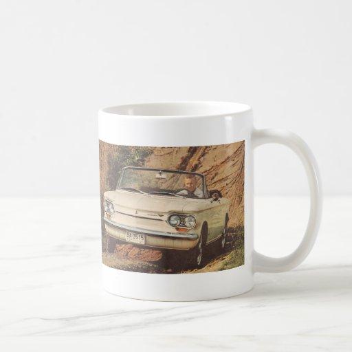 Early Corvair Convertible Mug