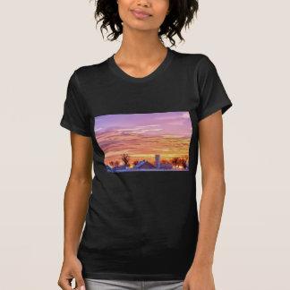 Early Country Colorado Morning Sunrise Tee Shirt