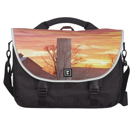 Early Country Morning Sunrise Commuter Bags