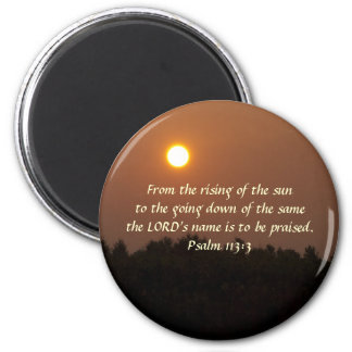 Early Dawn Late June 2 Inch Round Magnet
