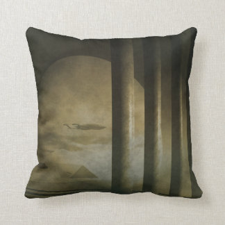 Early Dawn Visitor Pillow