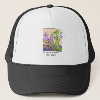 Early Days Of Dining Out Funny Gifts & Tees Trucker Hat