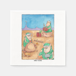 Early Elves Napkins
