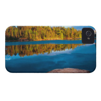 Early Evening reflections in the boundry waters iPhone 4 Case-Mate Case
