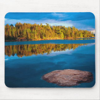 Early Evening reflections in the boundry waters Mouse Pad