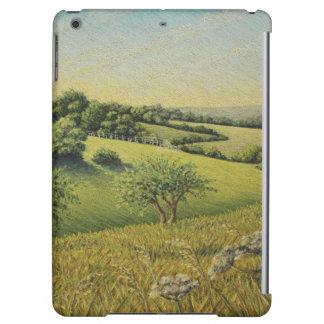 Early Evening Sun, Epsom Downs, Surrey iPad Air Cases