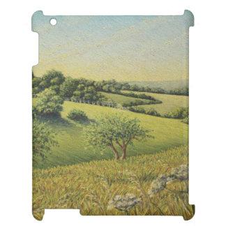 Early Evening Sun, Epsom Downs, Surrey iPad Case