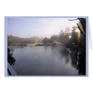 Early Fall - 1000 Islands Canada Greeting Cards