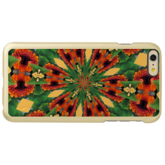 Early Fall Flowers Cheery Floral Motif Pattern Incipio Feather Shine iPhone 6 Plus Case