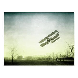 Early Flight Test Postcard