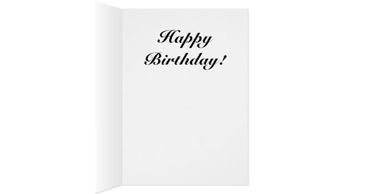 Early Genealogy Birthday Card bw – Happy Early Birthday Card