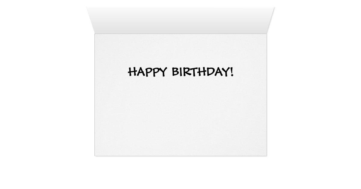 Early Genealogy Cartoon Birthday Card – Happy Early Birthday Card