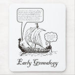 Early Genealogy Mouse Pad