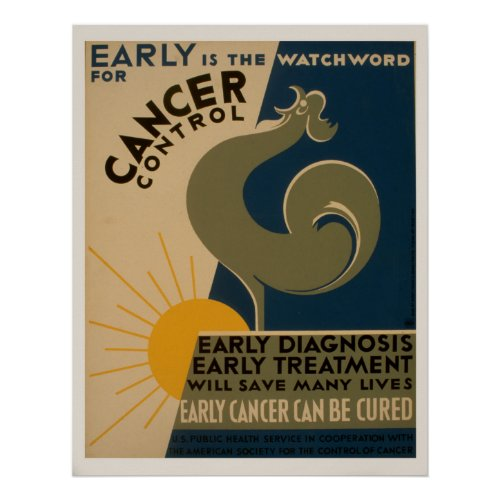 Early Is The Watchword For Cancer Control Vintage