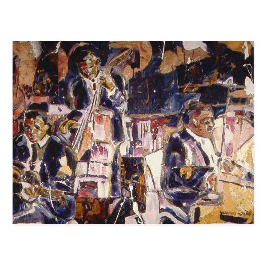 Early Jazz Postcard