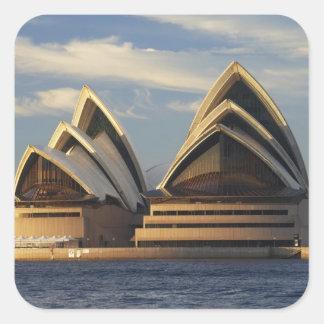 Early Light on Sydney Opera House, Sydney, New Square Sticker