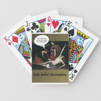 Early Medical Misconceptions Bicycle Playing Cards