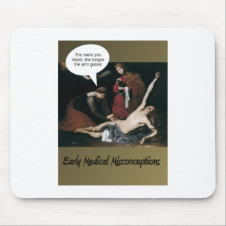 Early Medical Misconceptions Mouse Pad