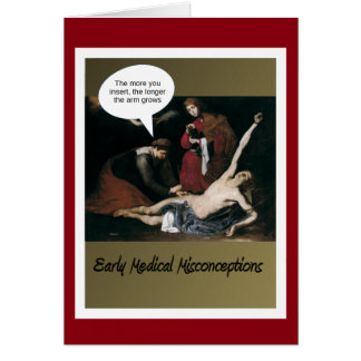 Early Medical Misconceptions - So Funny Card