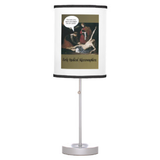 Early Medical Misconceptions - So Funny Desk Lamp