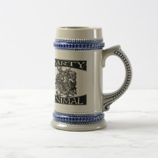 Early Modern Party Animal- Border Beer Stein