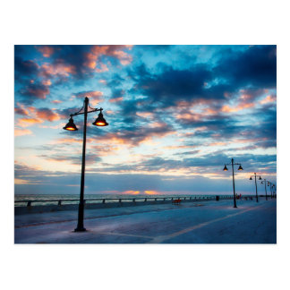 Early Morning along Atlantic Ocean and the Key Postcard