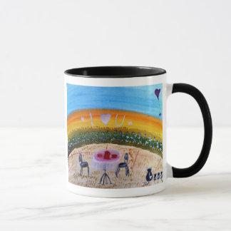 ...early morning...art by Jutta Gabriel... Mug