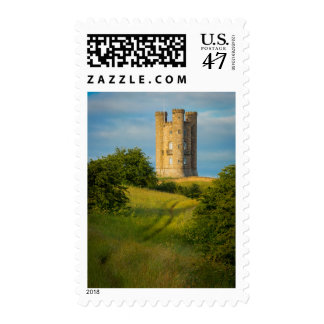 Early morning at Broadway Tower Postage