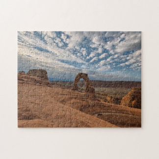 Early Morning at Delicate Arch Jigsaw Puzzle