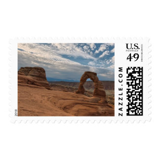 Early Morning at Delicate Arch Postage