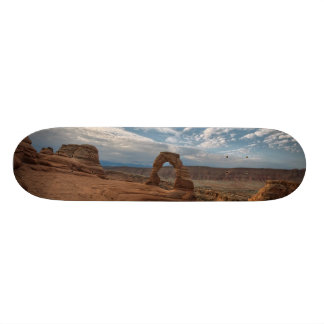 Early Morning at Delicate Arch Skate Boards