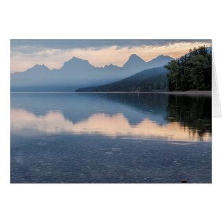 Early Morning at Lake McDonald - Glacier NP Card