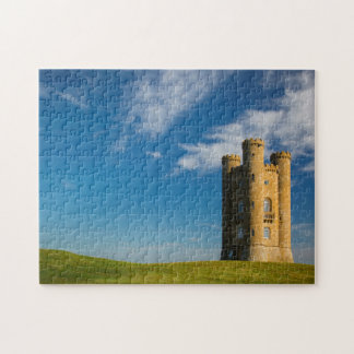 Early morning at the Broadway Tower Jigsaw Puzzle