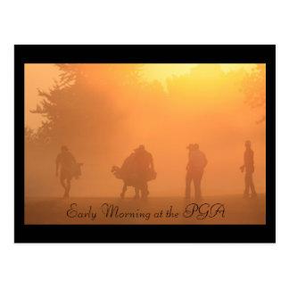 Early Morning at the PGA  Postcard