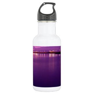 Early Morning Bolsa Chica Wetlands Sunrise Stainless Steel Water Bottle
