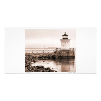 Early Morning Bug Light Photo Card