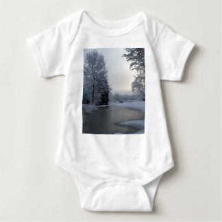 Early morning Calm Baby Bodysuit