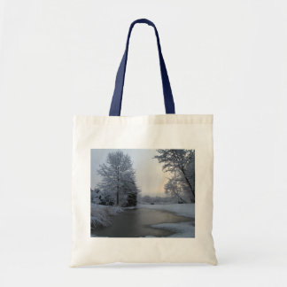 Early morning Calm Tote Bags