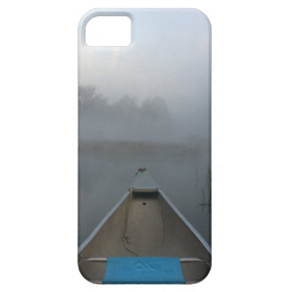 Early Morning Canoe Ride iPhone case