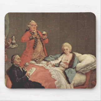 Early Morning Chocolate by Pietro Longhi Mousepads