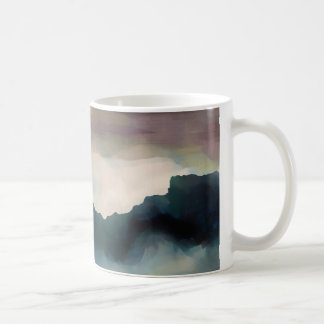 Early Morning Clouds Consume the Mountains Coffee Mug