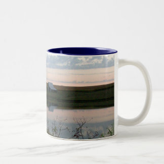 Early Morning Delights Two-Tone Coffee Mug