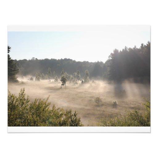 Early Morning Fog Art Photo
